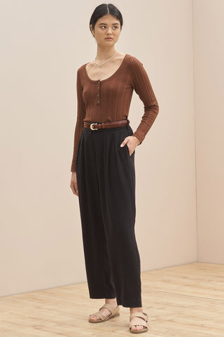 SANCIA The Ynes Pants | Black