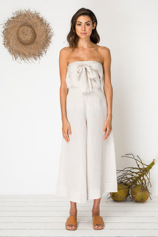 Bird & Kite Ticket to Ride Culottes - Natural Linen