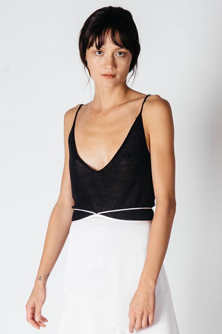 Interval Low V Cami - Black