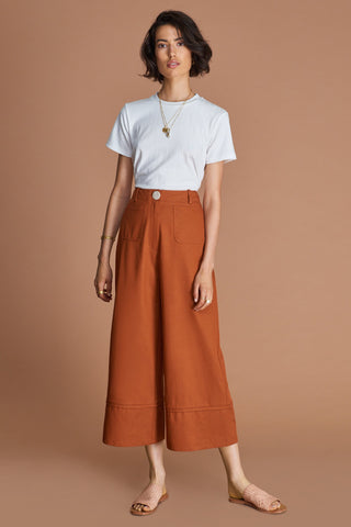SANCIA The Caroline Pants - Antique Tan
