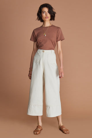 SANCIA The Caroline Pants - Vintage Cream