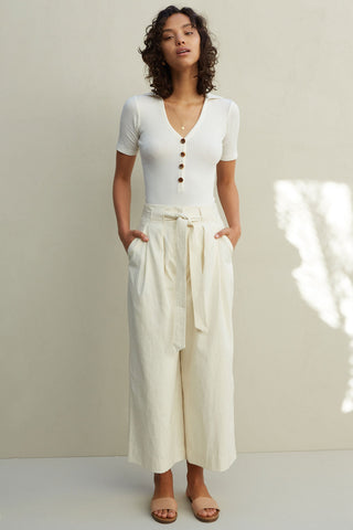 SANCIA The Marla Pants - Seashell