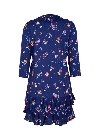 Auguste Desert Dandelion Grace Mini Dress - Navy Blue