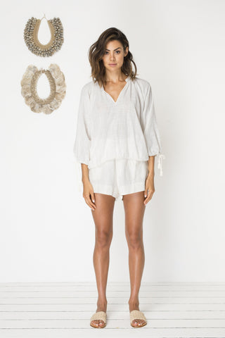 Bird & Kite Ariana Top - Ivory