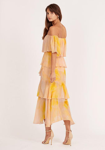 MINISTRY OF STYLE Essence Off The Shoulder Dress