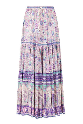 Spell Designs Poinciana Maxi Skirt - Lilac