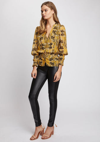 Ministry of Style Gold Light Top