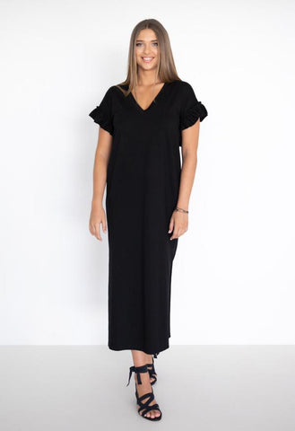 HUMIDITY Santorini Dress - Black