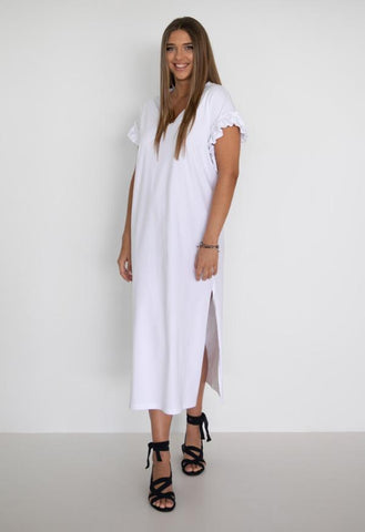 HUMIDITY Santorini Dress - White