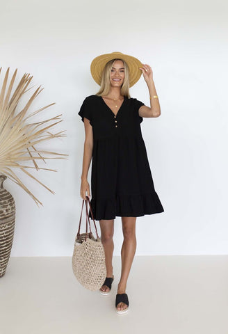 HUMIDITY Holly Dress - Black