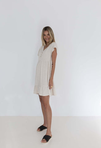 HUMDITY Holly Dress - Natural
