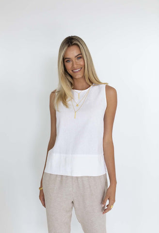 HUMIDITY Lana Top - White