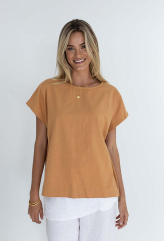 HUMIDITY Lexi Cotton Top