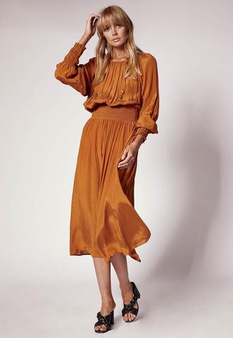 MINISTRY OF STYLE Inner Bloom Maxi Dress