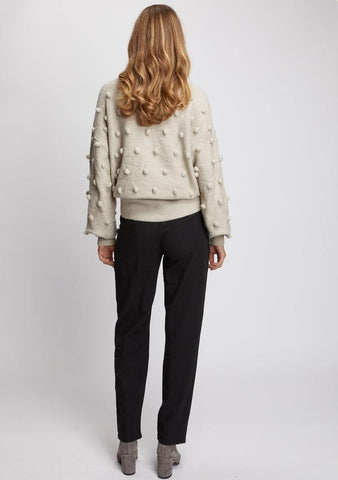 Ministry of Style Josette Knit Sweater - Natural