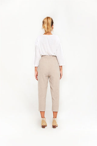 Rowie Taylor Pants - Almond