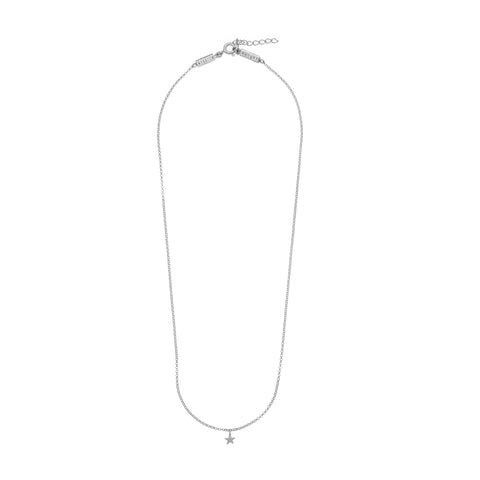 Krystle Knight Shining Star Necklace - Silver