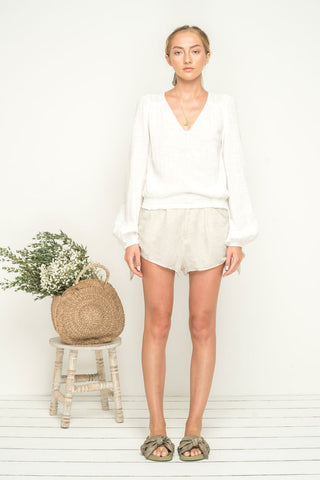 Bird & Kite Liliana Blouse - Ivory
