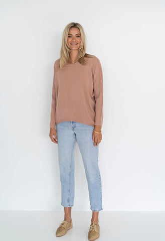 HUMIDITY Luna Top | Deep Blush
