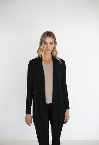 HUMIDITY Adore Cardigan - Black