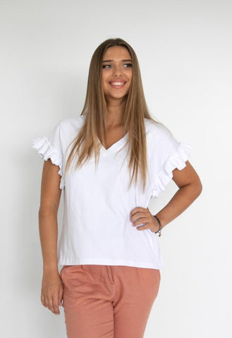 HUMIDITY Santorini Top - White