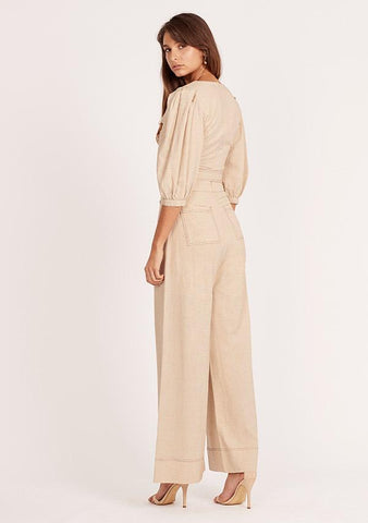MINISTRY OF STYLE Reed Linen Top