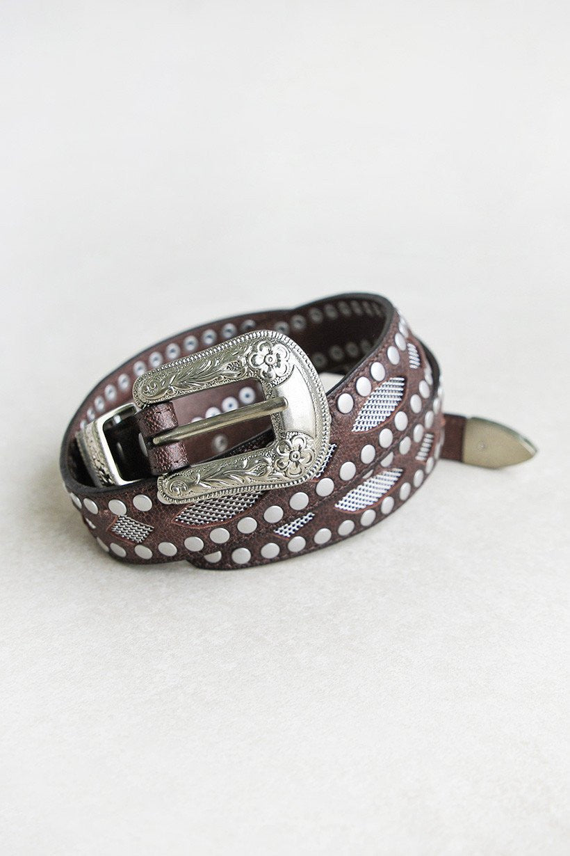 Spell Designs The Outlaw Belt - Chocolate - Wanderlust Trading Co