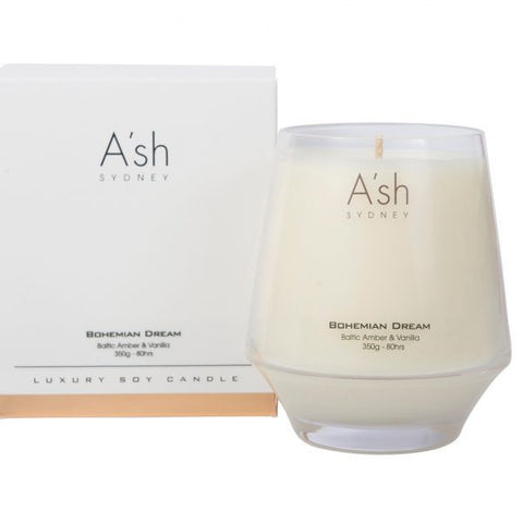 A'SH Bohemian Dream Glass Candle