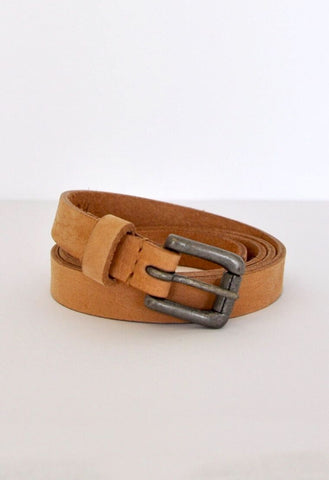 HUMIDITY Leather Belt - Tan