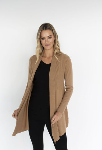 HUMIDITY Adore Cardigan - Camel