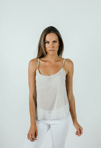 HUMIDITY Cotton Slip Top