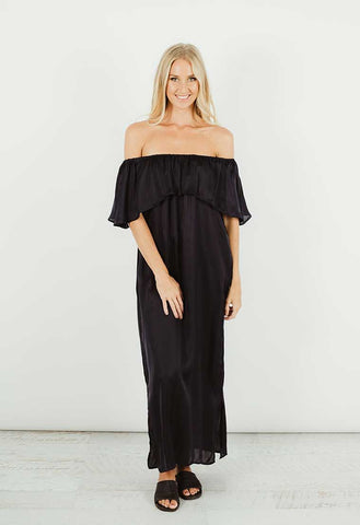 Humidity Mustique Dress - Black