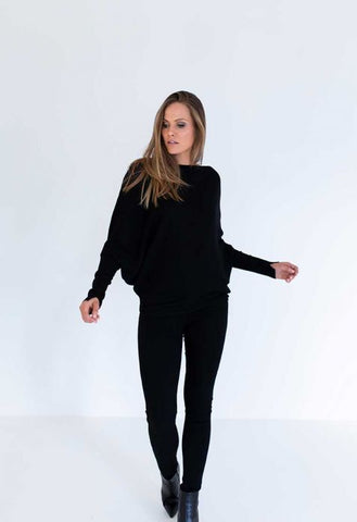 Humidity Secret Sweater - Black