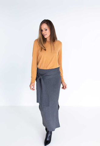 Humidity Renegade Skirt - Charcoal