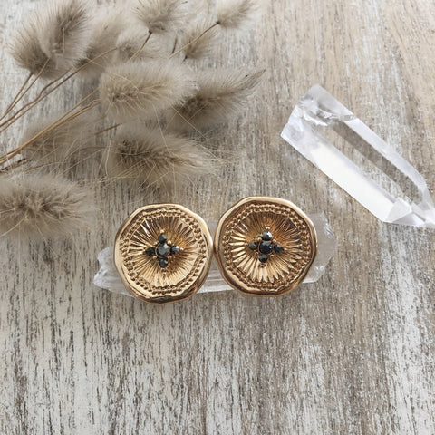 WILD CACTUS CO. Salso Ear Studs
