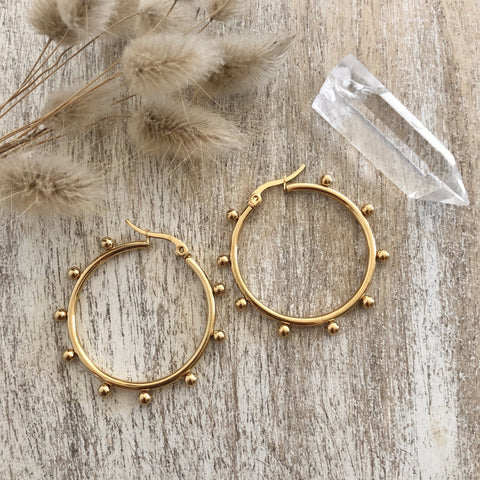 WILD CACTUS CO Tribal Light Ear Hoops