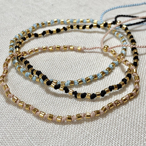 ATHENA+CO Gold Knots Bracelet