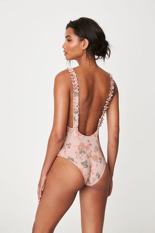 ROWIE Holiday One Piece Blush Meadow