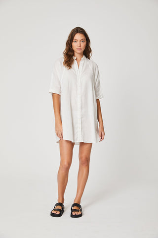 ROWIE Demi Dress Bone
