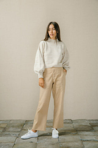 Bird & Kite Salvador Jumper - Oatmeal Marle