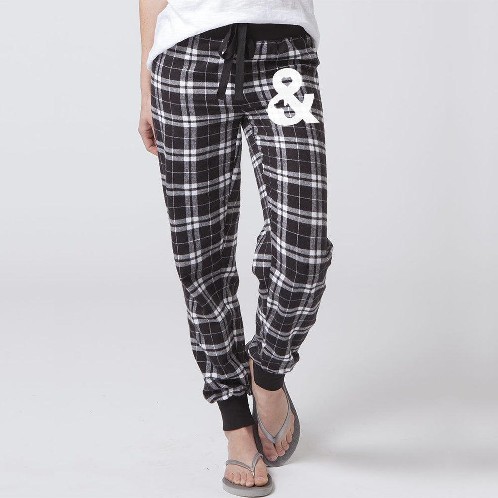 Women's Flannel Jogger | Rescue Strong