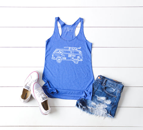 RS Road Trip Women's Racerback | Rescue Strong