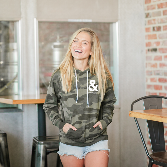 Rescue Strong Lightweight Camo Hoodie | Rescue Strong