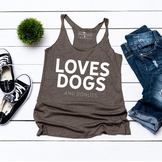 Loves Dogs (and donuts) | Rescue Strong