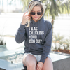 Unisex I Was Checking Your Dog Out™ Pullover Hoodie | Rescue Strong