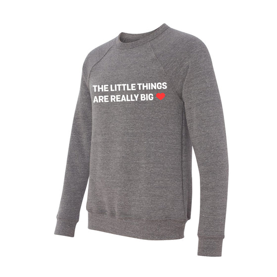 Unisex Little Things Crew Neck Sweater | Rescue Strong