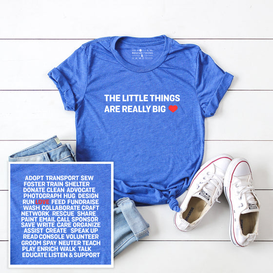 Unisex The Little Things Tee | Rescue Strong