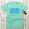 Loves Dogs (and cookies) Unisex Tee | Rescue Strong
