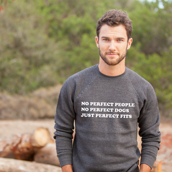 Perfect Fits (version 2.0) Unisex Crew Neck Sweater | Rescue Strong