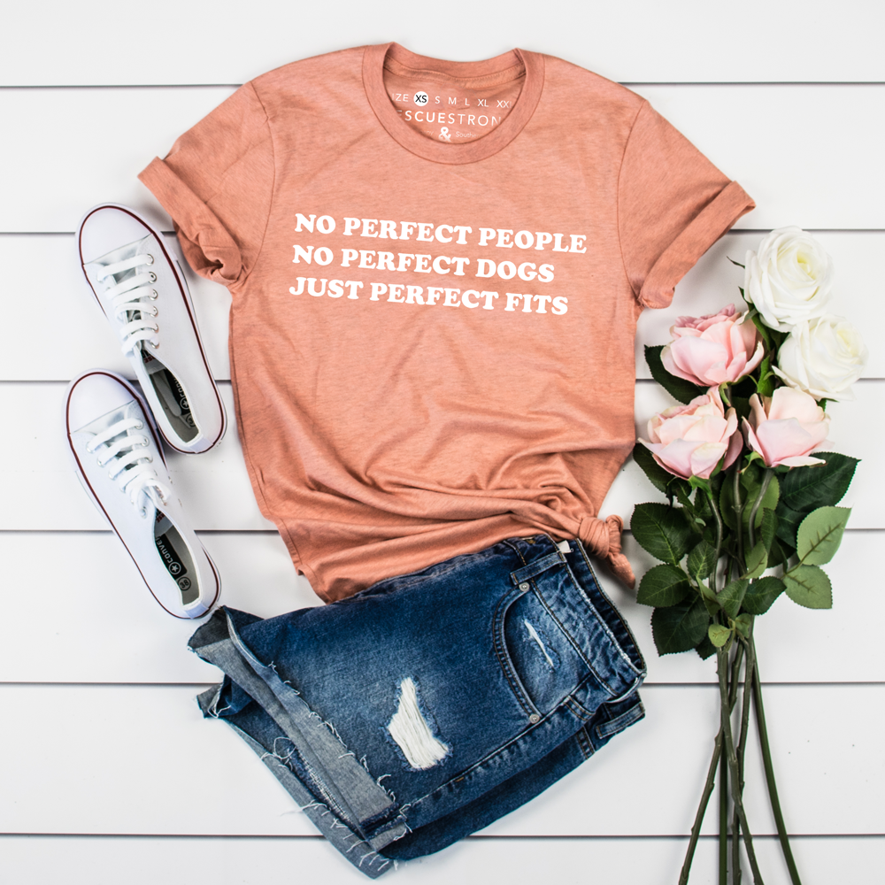 Perfect Fits (version 2.0) Unisex Tee | Rescue Strong